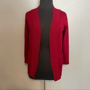 ACTIVE USA long sleeve open front cardigan
